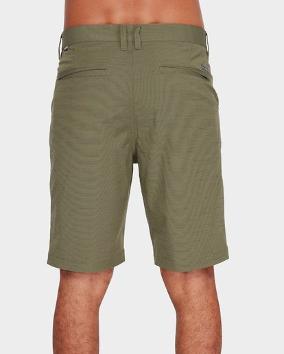4 Crossfire X Slub Shorts Green 9585709 Billabong