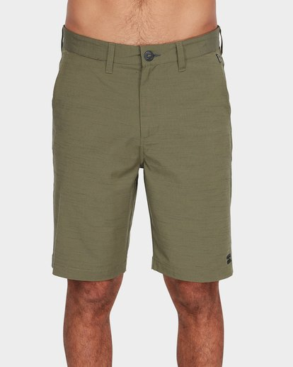 2 Crossfire X Slub Shorts Green 9585709 Billabong
