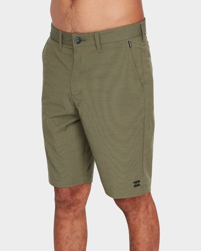 3 Crossfire X Slub Shorts Green 9585709 Billabong