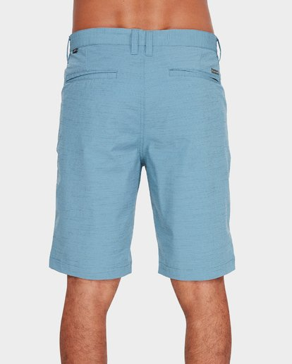 4 CROSSFIRE X SLUB WALKSHORTS Blue 9585709 Billabong