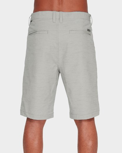 4 Crossfire X Slub Shorts Grey 9585709 Billabong