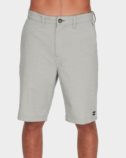 2 Crossfire X Slub Shorts Grey 9585709 Billabong