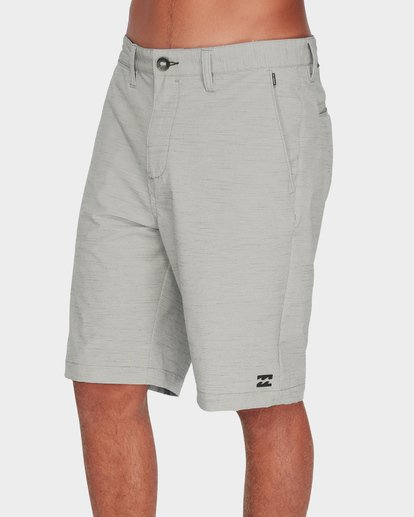 3 Crossfire X Slub Shorts Grey 9585709 Billabong