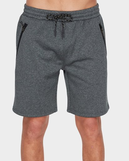 2 ADIV TECH FLEECE WALKSHORT Black 9585714 Billabong