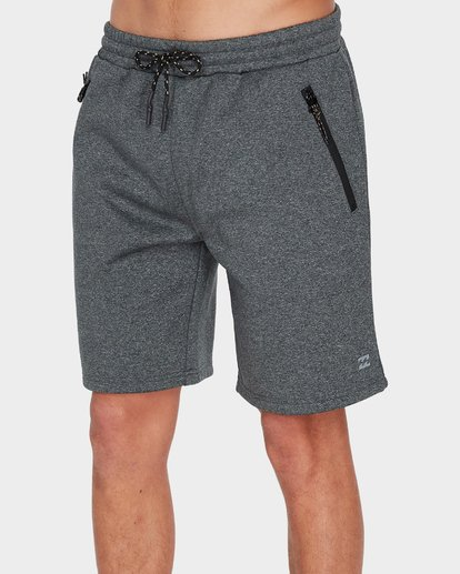 3 ADIV TECH FLEECE WALKSHORT Black 9585714 Billabong