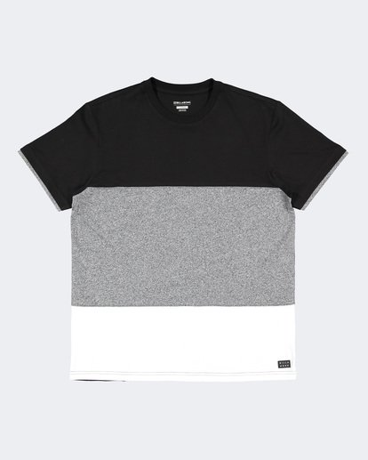 4 The Banded Panel Tee Grey 9591002 Billabong