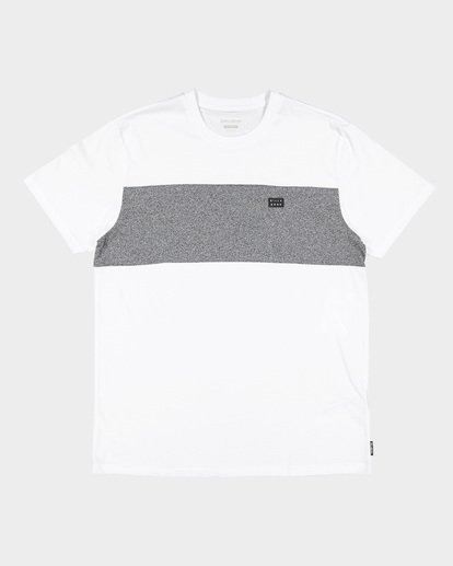 4 The Banded Panel Tee White 9591002 Billabong