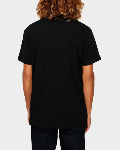 3 THE BANDED PANEL TEE Black 9591002 Billabong