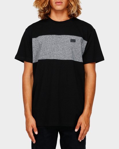 0 THE BANDED PANEL TEE Black 9591002 Billabong