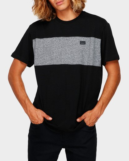 1 THE BANDED PANEL TEE Black 9591002 Billabong