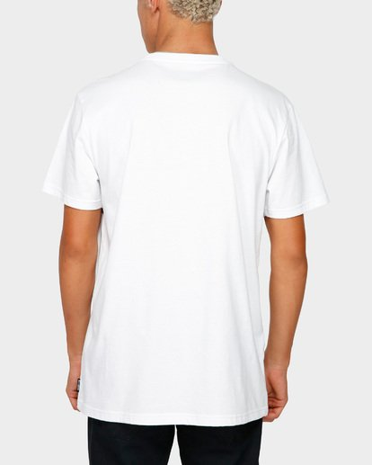 3 The Banded Panel Tee White 9591002 Billabong