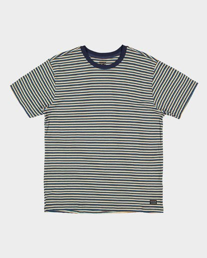 4 Die Cut Stripe Tee Blue 9591003 Billabong