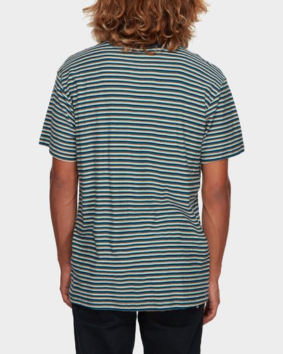 3 Die Cut Stripe Tee Blue 9591003 Billabong
