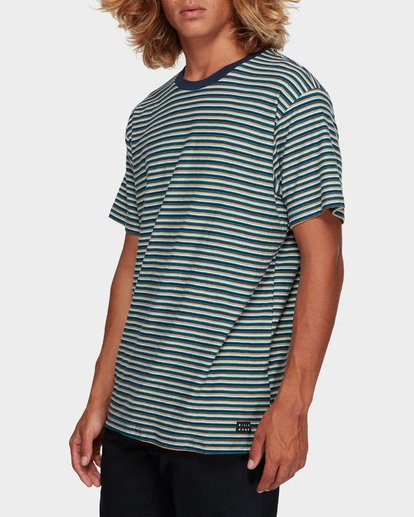 2 Die Cut Stripe Tee Blue 9591003 Billabong