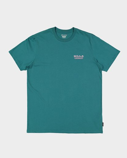 4 Under Cut Tee Green 9591005 Billabong