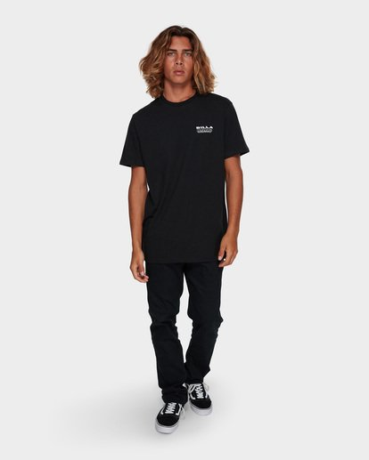 6 UNDER CUT TEE Black 9591005 Billabong