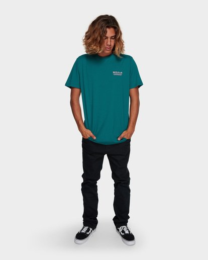 6 UNDER CUT TEE Green 9591005 Billabong