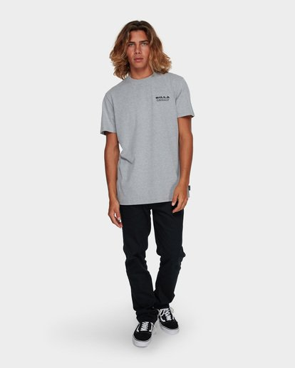 6 UNDER CUT TEE Grey 9591005 Billabong