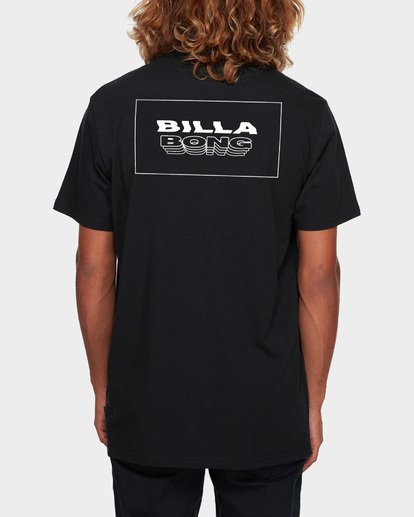 3 UNDER CUT TEE Black 9591005 Billabong