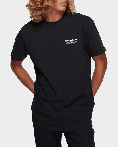 1 UNDER CUT TEE Black 9591005 Billabong