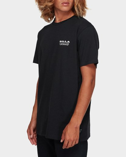 2 UNDER CUT TEE Black 9591005 Billabong