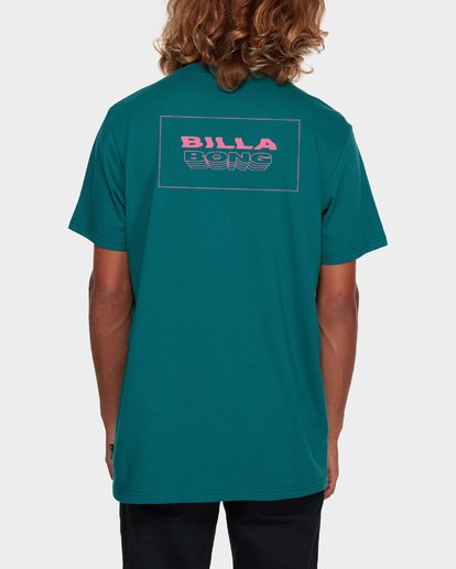 3 Under Cut Tee Green 9591005 Billabong