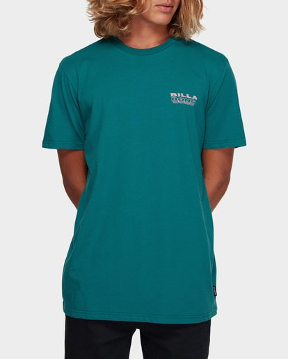 1 UNDER CUT TEE Green 9591005 Billabong