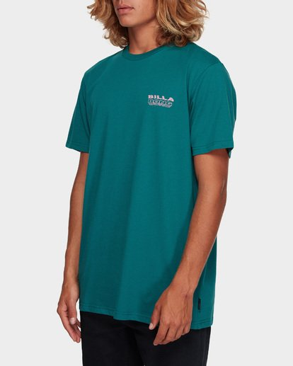 2 UNDER CUT TEE Green 9591005 Billabong