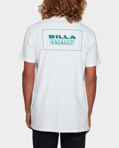 3 UNDER CUT TEE White 9591005 Billabong