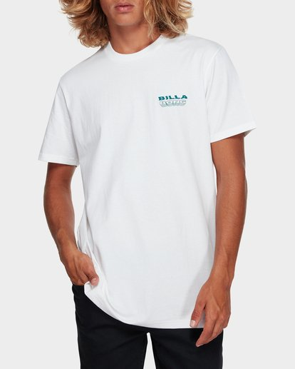 1 UNDER CUT TEE White 9591005 Billabong