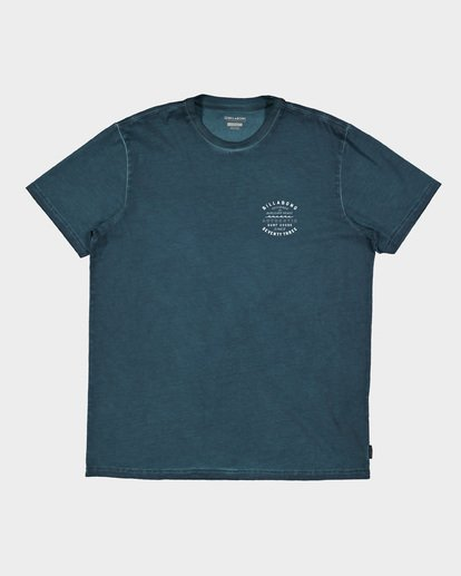4 TYPE WAVE TEE Blue 9591007 Billabong