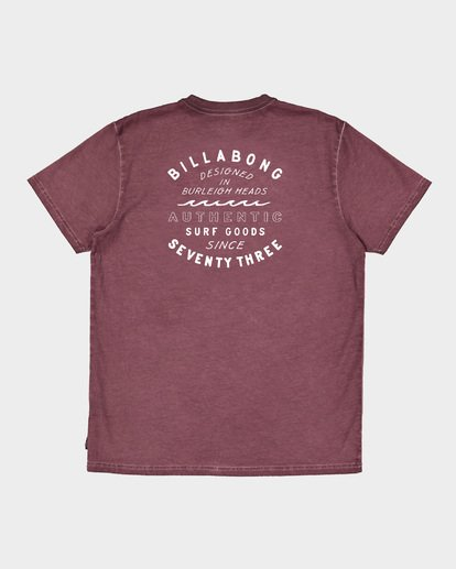5 Type Wave Tee Pink 9591007 Billabong