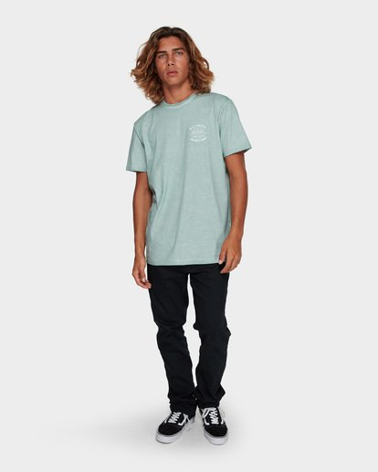 6 Type Wave Tee Blue 9591007 Billabong
