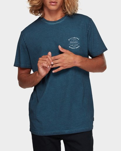 0 TYPE WAVE TEE Blue 9591007 Billabong