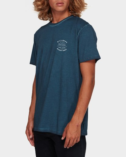 2 TYPE WAVE TEE Blue 9591007 Billabong
