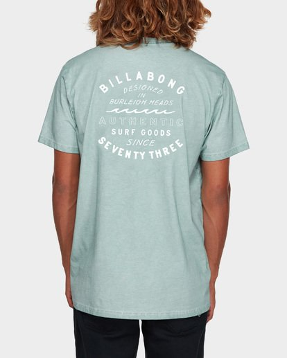 3 Type Wave Tee Blue 9591007 Billabong