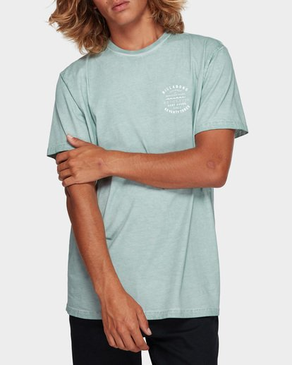 1 Type Wave Tee Blue 9591007 Billabong