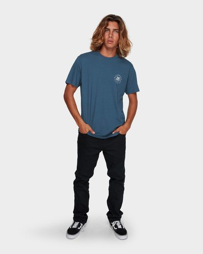 6 WHERE IT IS FINE TEE Blue 9591008 Billabong