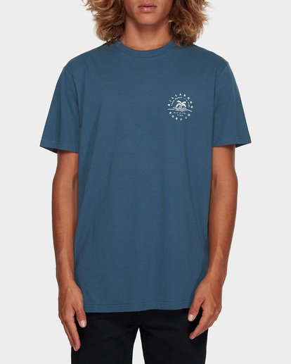 0 WHERE IT IS FINE TEE Blue 9591008 Billabong