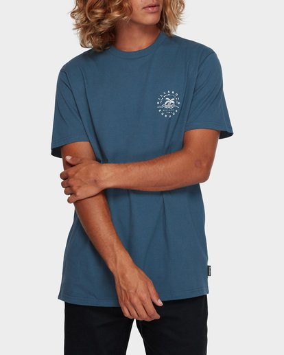 1 WHERE IT IS FINE TEE Blue 9591008 Billabong