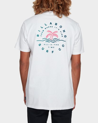 3 WHERE IT IS FINE TEE White 9591008 Billabong