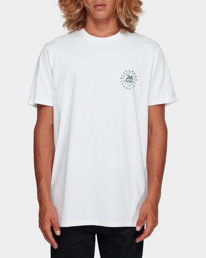 1 WHERE IT IS FINE TEE White 9591008 Billabong
