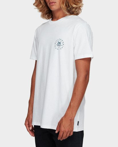 2 WHERE IT IS FINE TEE White 9591008 Billabong