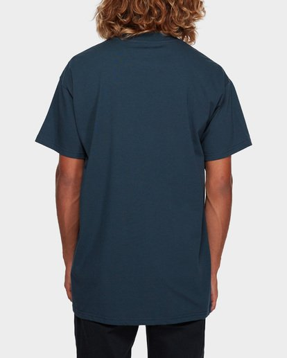 3 CUT DIAMOND EMB TEE Blue 9591010 Billabong