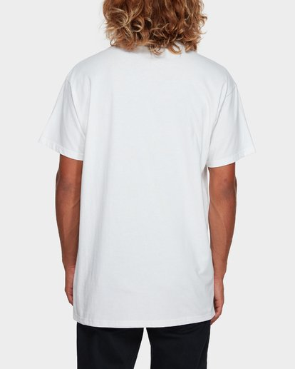 3 CUT DIAMOND EMBROIDERED TEE White 9591010 Billabong