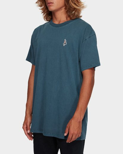 2 FLAMIN GALLAH TEE Blue 9591011 Billabong