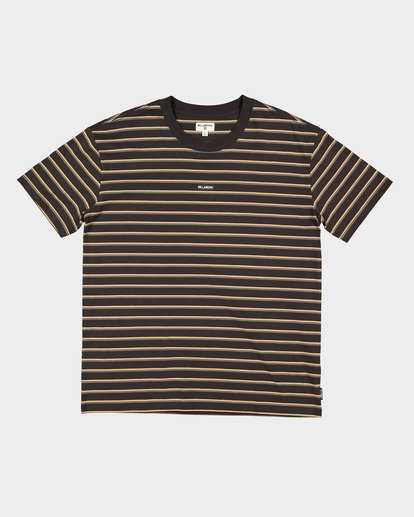 4 INDIE STRIPE TEE Black 9591016 Billabong