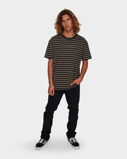5 Indie Stripe Tee Black 9591016 Billabong