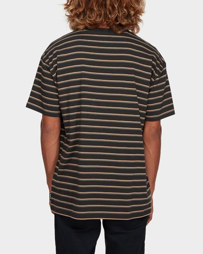 3 Indie Stripe Tee Black 9591016 Billabong