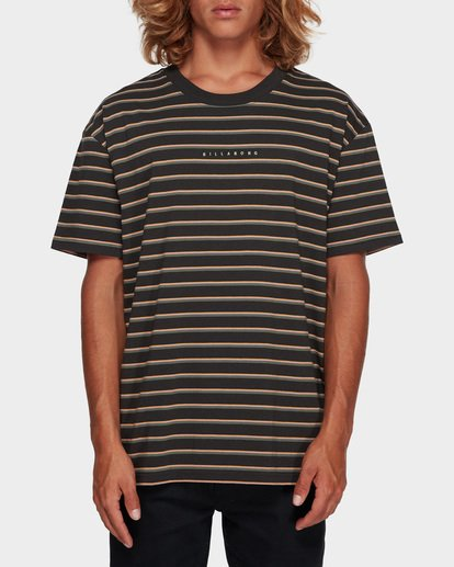0 Indie Stripe Tee Black 9591016 Billabong